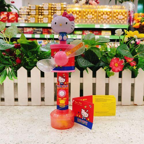 HELLO KITTY玩具风扇糖果