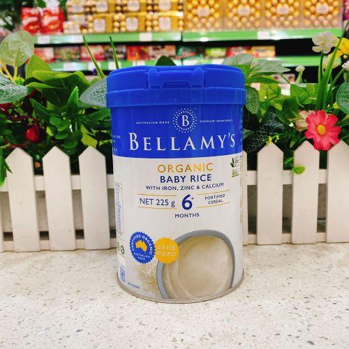 澳洲贝拉米有机婴幼儿大米粉(6个月以上)225g