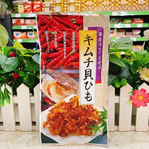 日本小岛辣味泡菜扇贝裙边干20g