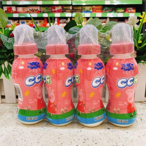 小猪佩奇CC乐饮料(草莓味)200ml×4支
