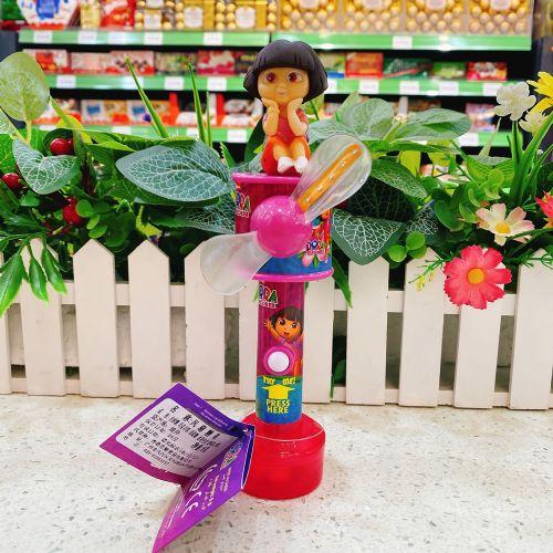 朵拉玩具风扇糖果