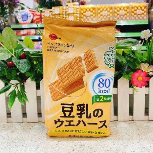 日本高邦豆乳威化饼16枚(袋装)