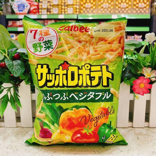 日本卡乐B 7种野菜脆条80g(袋装)