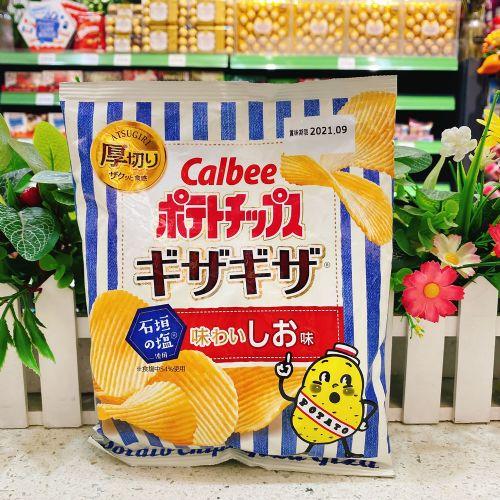 日本卡乐B厚切盐味波浪薯片60g(袋装)