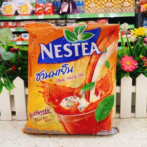 泰国饮料雀巢Nestea奶茶33g×13条
