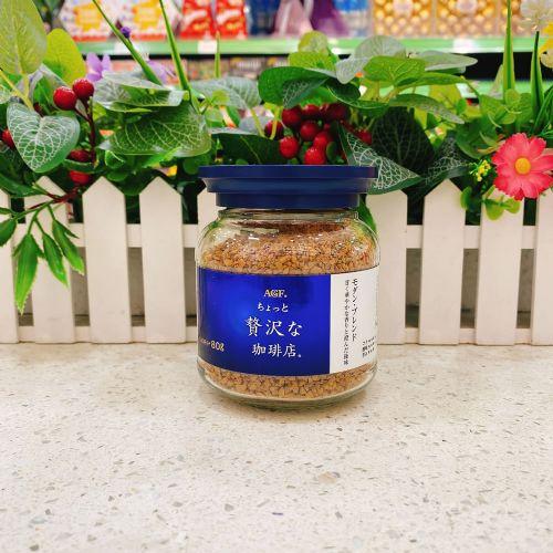 日本AGF MAXIM 混合即溶咖啡80g(樽装)