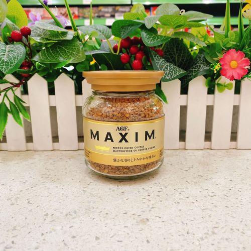 日本AGF MAXIM 芳香即溶咖啡80g(樽装)