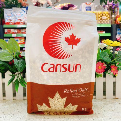 加拿大CANSUN加森太阳传统燕麦片1kg