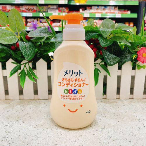 日本花王弱酸性蜜桃味儿童护发素360ml