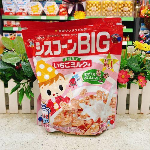 日本日清草莓味儿童麦片180g(企袋)