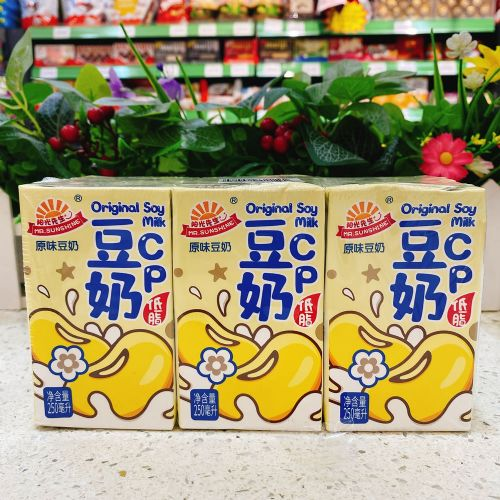 阳光先生低脂豆奶250ML×6盒