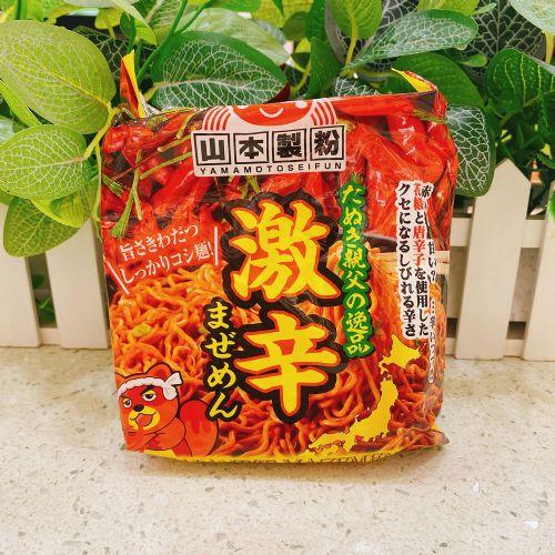日本山本制粉超级辣味日式捞面80g