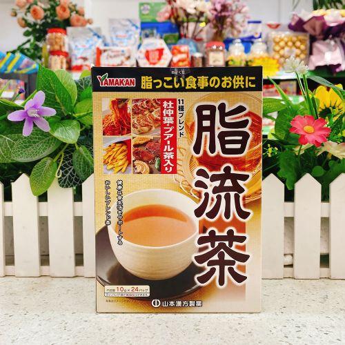 日本YAMAKAN脂流茶10g×24包