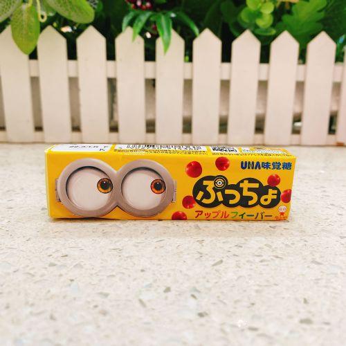 日本UHA悠哈味觉糖小黄人苹果味10粒