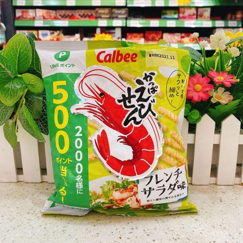 日本卡乐B 法式沙律味虾条70g(袋装)