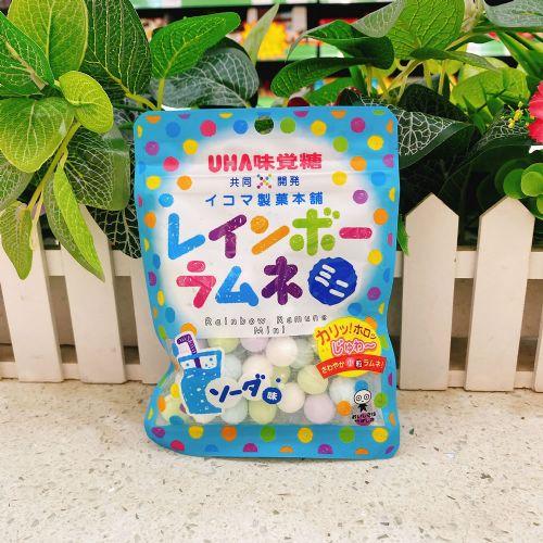 日本UHA悠哈味觉迷你七彩梳打粉糖40g(袋装)