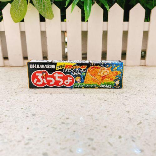 味觉糖悠哈UHA果肉橡皮粒夹心糖(橙子味) 10粒入