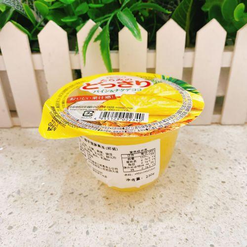日本Tarami 椰子菠萝果冻230g(杯装)