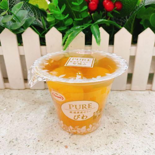 日本Tarami 粒粒果肉水果果冻270g(枇杷)