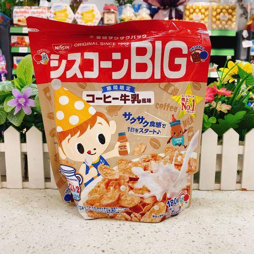 日本日清儿童咖啡味麦片180g