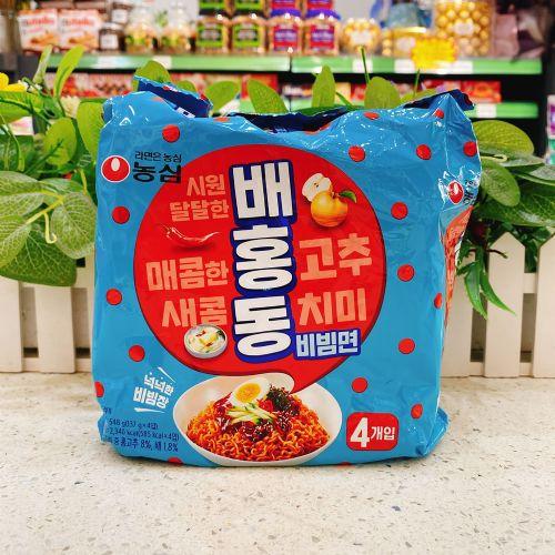 韩国农心韩式甜辣拌面137g