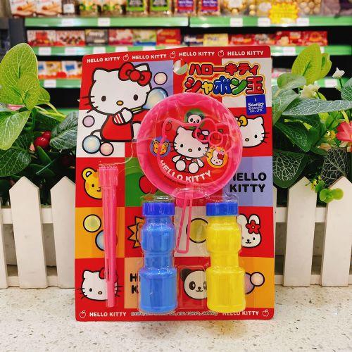 日本成近屋Hello Kitty吹泡泡玩具1个(袋装)