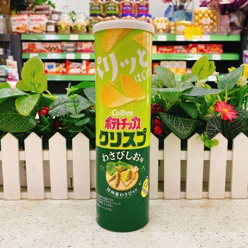 日本卡乐B 芥辣盐味薯片115g(长筒装)