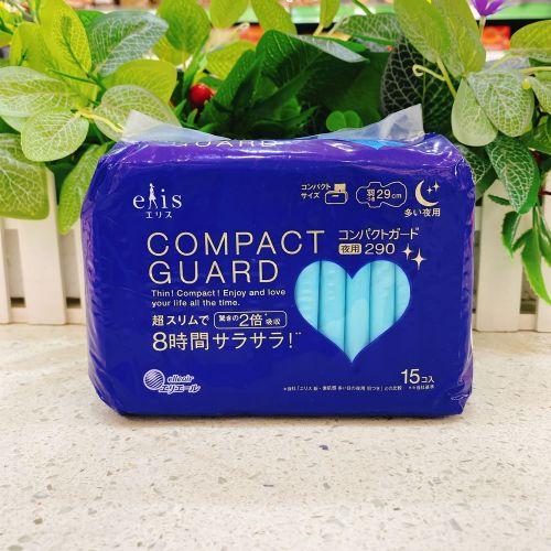 日本大王COMPACT GUARD 卫生巾15片29cm(夜用)