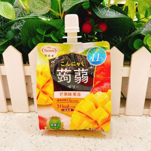 Tarami塔拉蜜�X�m可吸果冻(芒果味)150g