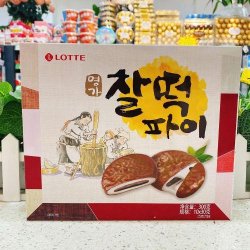 韩国乐天年糕派(巧克力味)300g
