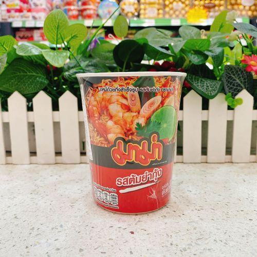 泰国MAMA妈妈牌柠檬酸辣虾味冬荫功辣味杯面60g