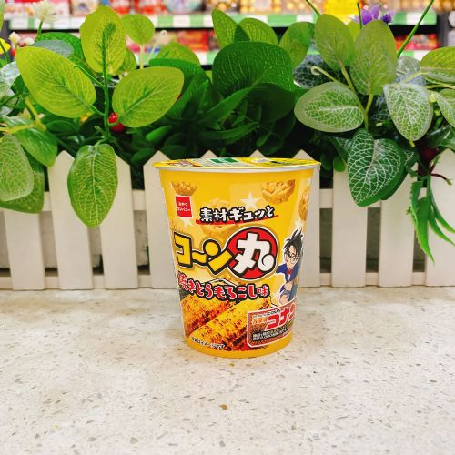 日本童星玉米味脆面(杯装)55g