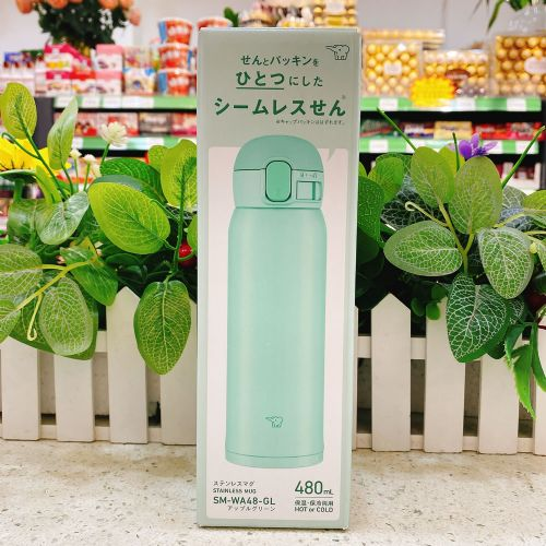 日本象印保温杯480ml(奶绿色)SM-WA48-GL