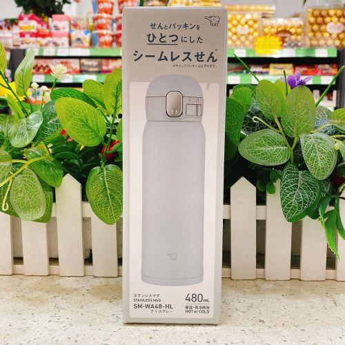 日本象印保温杯480ml(浅蓝色)SM-WA48-HL