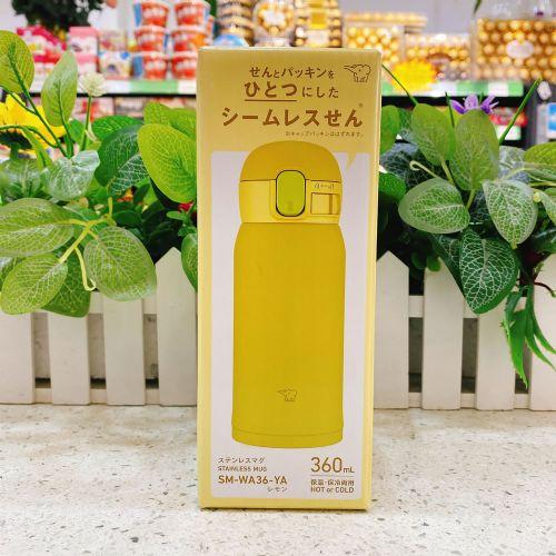 日本象印保温杯360ml(黄绿色)SM-WA36-YA