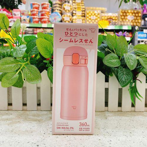 日本象印保温杯360ml(粉色)SM-WA36-PA