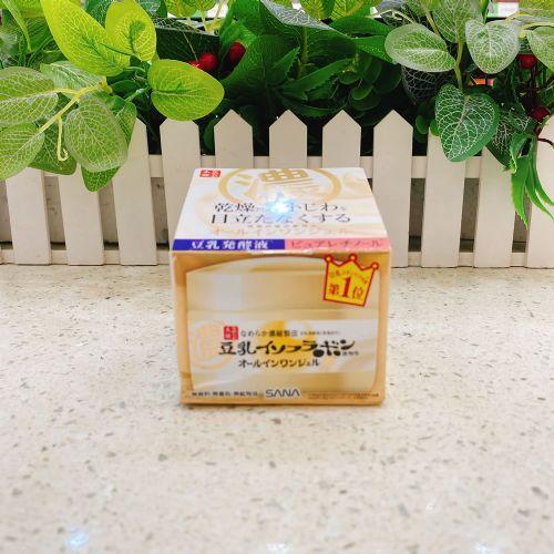 莎娜SANA豆乳美肌多效保湿凝胶霜100g