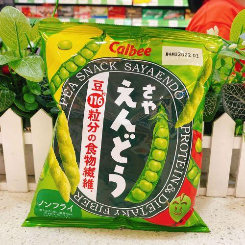 日本卡乐B豌豆盐味脆条67g