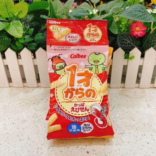 日本卡乐B虾条8g(4连包)