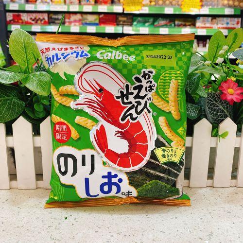 日本卡乐B海苔盐味虾条70g